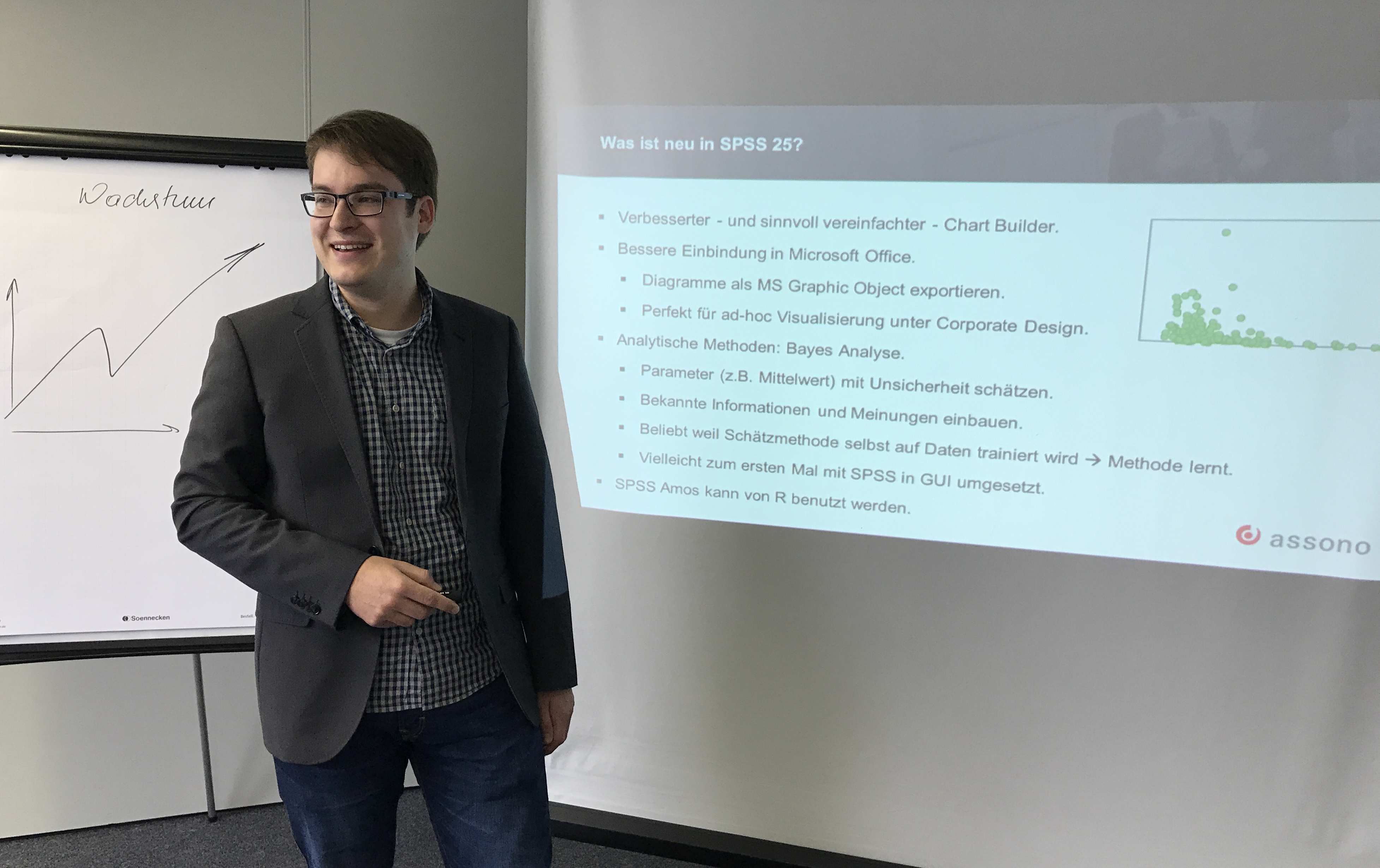 Vortrag über die Neuerungen von SPSS V25