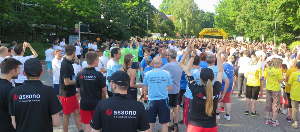 assono beim Business.Run Kiel 2017