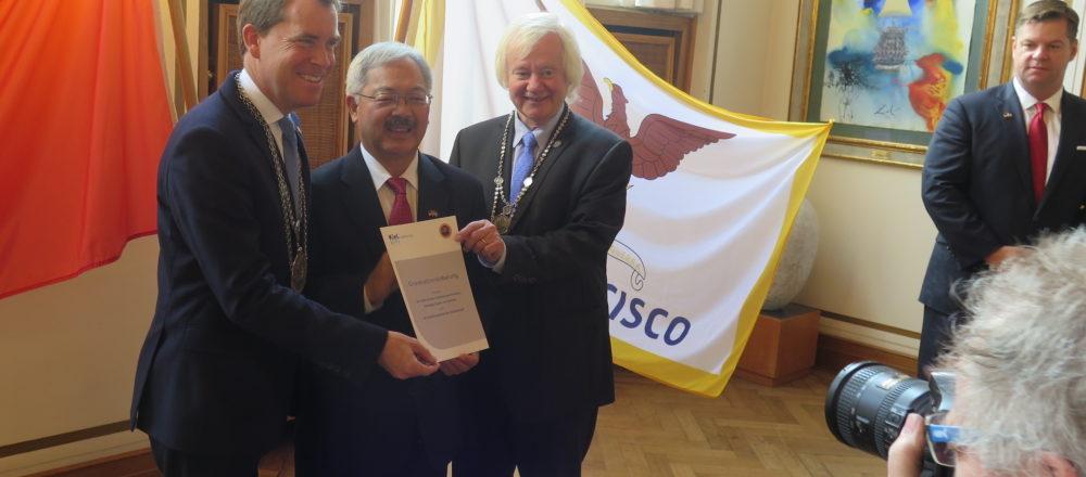 Historischer Moment in Sachen Digitalisierung – Memorandum zwischen den Städten San Francisco und Kiel unterzeichnet