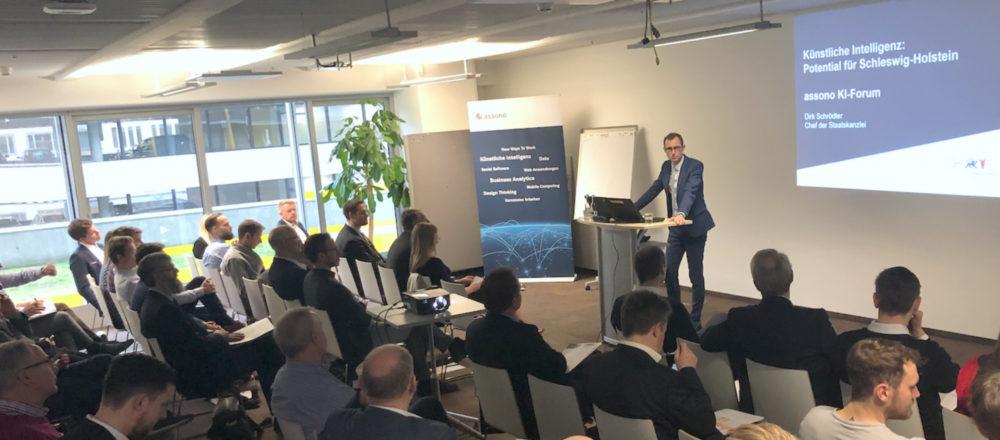 assono KI-Forum bei IBM in Hamburg: Mit Chatbots die Zukunft gestalten