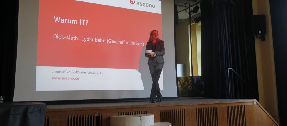 Digitale Agenda SH – assono Präsentation am Gymnasium Wellingdorf