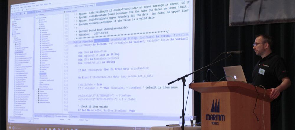 EntwicklerCamp 2017 - Objektorientierte Programmierung in LotusScript