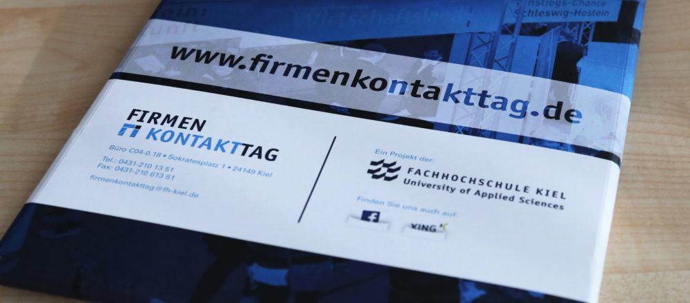 Firmenkontakttag 2016 - Fachhochschule Kiel
