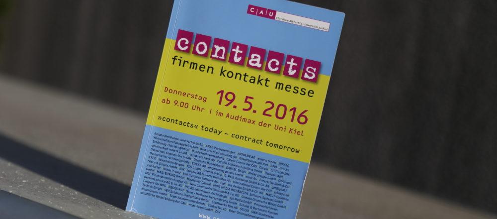 contacts Messe 2016, Christian-Albrechts-Universität in Kiel