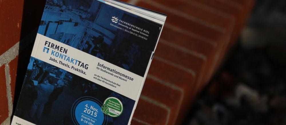 Firmenkontakttag 2015 - Fachhochschule Kiel