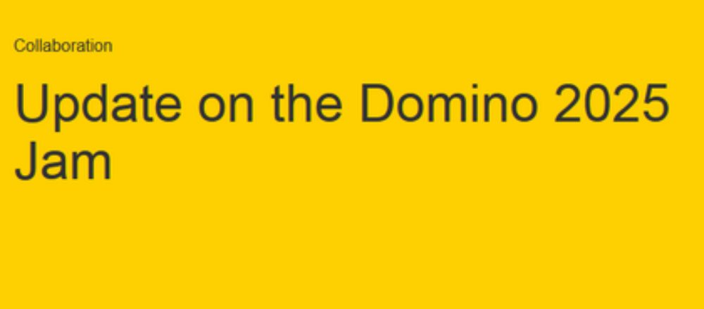 Neuigkeiten zum Domino 2025 Jam