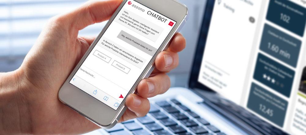Chatbots sicher und einfach verwalten -- 5 Gründe für das assono-Dashboard