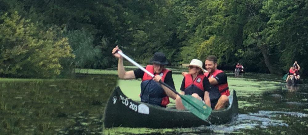 assonos Sommerevent 2018: Mit den Kanus auf in die Business Saison Teil 2