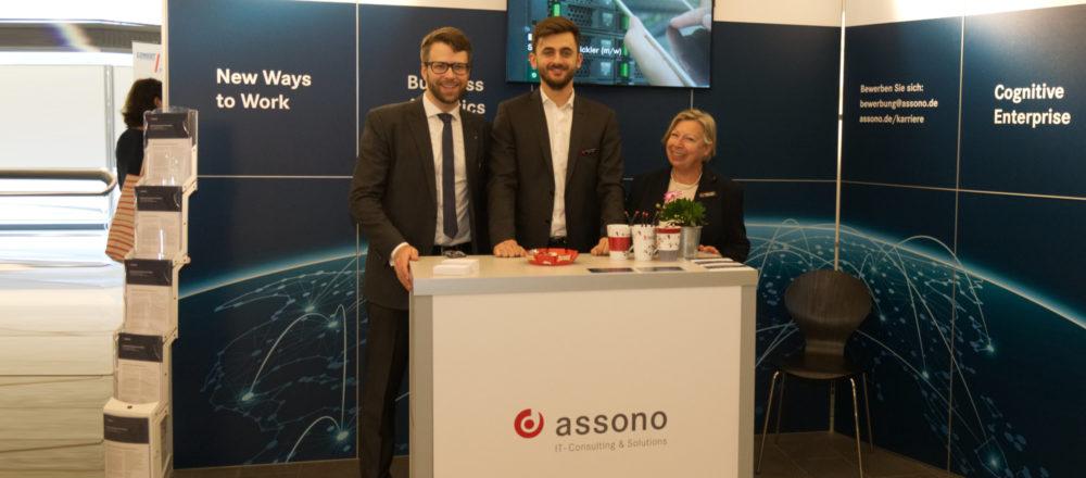assono beim Firmenkontakttag in Kiel am 24. Oktober 2018