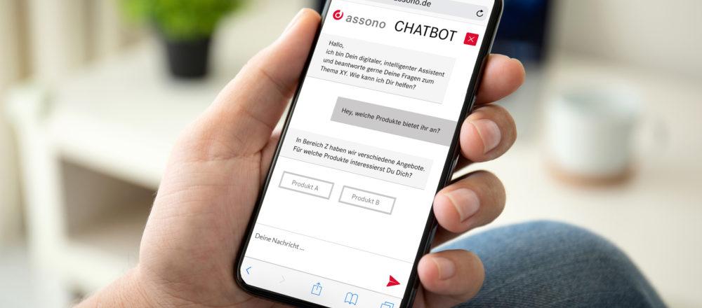 Jetzt anmelden zum assono KI-Forum in Hamburg: Erfahren Sie von uns im November live, wie Unternehmen Chatbots erfolgreich einsetzen.
