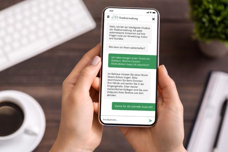 assono Chatbot für öffentliche Einrichtungen: Digitalisierung: E-Government mit Chatbots