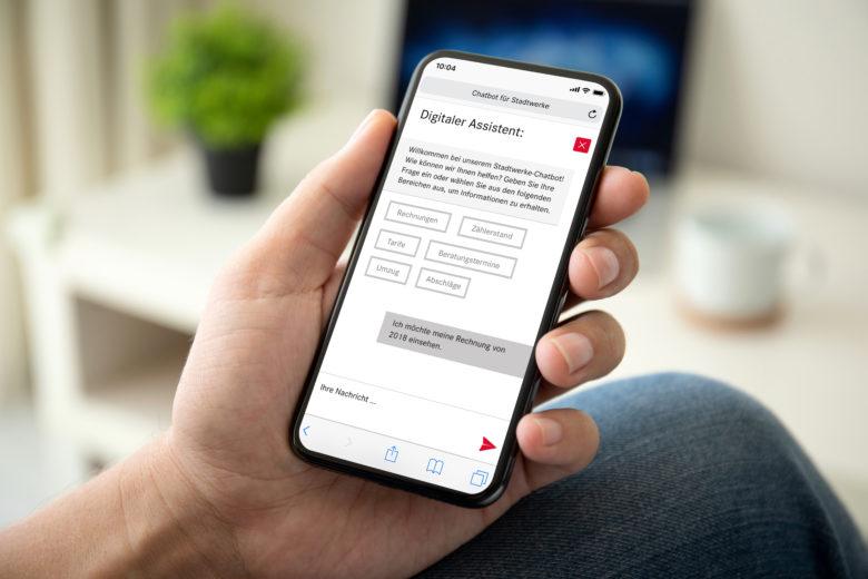 assono Chatbot für Stadtwerke und Versorgungsunternehmen: Ein Chatbot für Stadtwerke und Versorgungsunternehmen