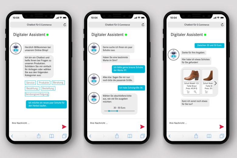 assono Chatbot für E-Commerce: Nehmen Sie Ihren Kunden beim Kauf an die Hand